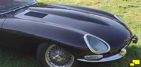 Jaguar E-Type bonnet