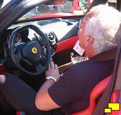 Lovely Ferrari Enzo Interior