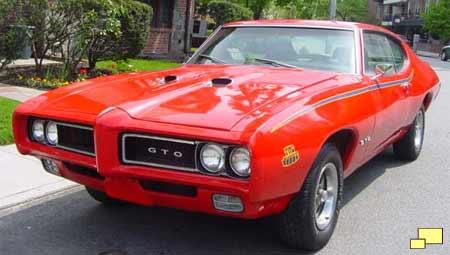 Download Car Town Templates: 69 Pontiac.