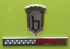 Early Bertone badge