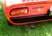 Lamborghini Miura rear tail light