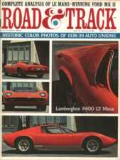 Road and Track, April 1970